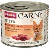 Animonda 200г с говядиной, телятиной и курицей Консервы для котят Carny Kitten - Baby Pate
