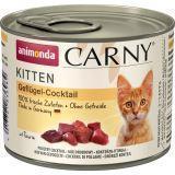 Animonda 200г с говядиной и домашней птицей Консервы для котят Carny Kitten - Beef + Poultry