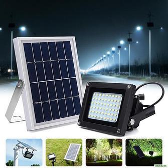 Прожектора с солнечной панелью, прожектора с аккумулятором, прожектора автономные.