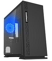 Корпус ПК без БП GameMax EXPEDITION H605-BK(BLK) MATX, 1x120mm,USB2.0x2, USB3.0x1, 350x180x380mm
