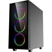 Корпус ПК без БП GameMax Draco XD ATX, 3x120ARGB, 3.5*(HDD)x2, 2.5*(SSD)x2, USB2.0x1, USB3.0x1, HD Audio,