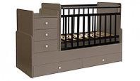 Детская кровать-трансформер Фея 1100 латте