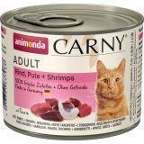 Animonda 200г с говядиной, индейкой и креветками Консервы для кошек Carny Adult Cat - Beef, Turkey Shrimps