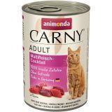 Animonda 400г Мясной коктейль Консервы для кошек Carny Adult Cat - Multi Meat Cocktail