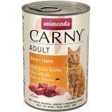 Animonda 400г с говядиной и курицей Консервы для кошек Carny Adult Cat - Beef Chicken