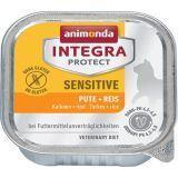 Animonda 100г Sensitive Turkey & Rice c индейкой и рисом при пищевой аллергии питание для кошек