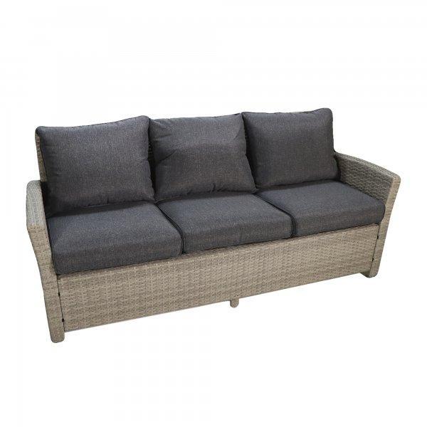 "Комплект мебели ""Борсу"" (Стол+Кресло 2+Диван+Пуфики 2) - фото 4"