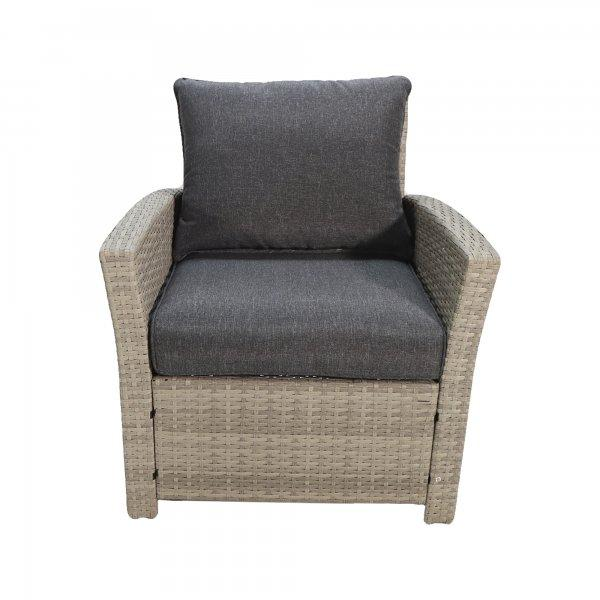 "Комплект мебели ""Борсу"" (Стол+Кресло 2+Диван+Пуфики 2) - фото 7"