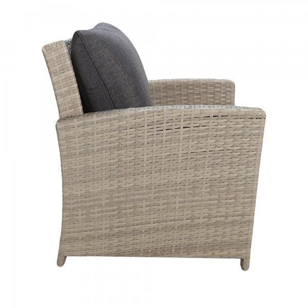 "Комплект мебели ""Борсу"" (Стол+Кресло 2+Диван+Пуфики 2) - фото 6"