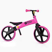 Беговел Yvolution Velo Balance bike розовый
