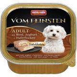 Animonda 150г с говядиной, йогуртом и овсяными хлопьями Консервы для собак Vom Feinsten