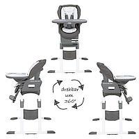 Стульчик для кормления Joie Mimzy Spin 3в1 Tile