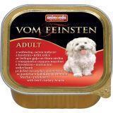 Animonda 150г с говядиной и сердцем индейки Консервы для собак Vom Feinsten