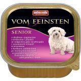 Animonda Senior Dog 150г с мясом домашней птицы и ягненком Консервы для собак старше 7 лет Vom Feinsten
