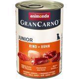 Animonda Junior 400г с говядиной и курицей Консервы для щенков и юниоров Gran Сarno