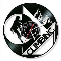 Настенные часы Альпинизм, подарок альпинисту, скалолазу, фанатам, любителям, 1536