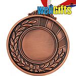 Медаль металлическая бронза с лентой, фото 2