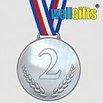Медали металлические с лентой и гравировкой, фото 2
