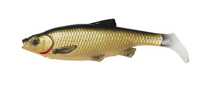 Мягкая приманка Savage Gear LB Roach paddle tail (63788=10cm Dirty Roach)