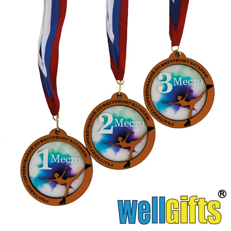 Наградные медали с лентой