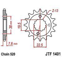 Звезда передняя, ведущая JT 1401, стальная