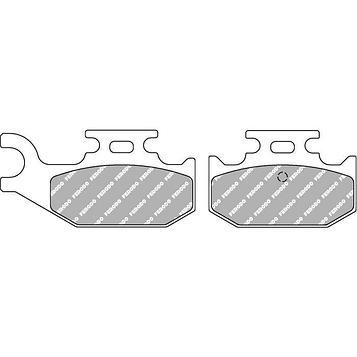 Колодки тормозные дисковые, 2 шт, FDB2235SG