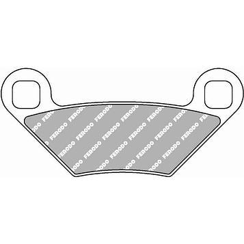 Колодки тормозные дисковые, 2 шт, FDB2276SG