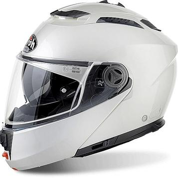 Шлем модуляр Phantom S белый глянцевый, L