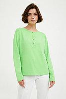 Блузка женская Finn Flare, цвет неоновый зеленый, размер L