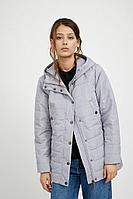 Куртка женская Finn Flare, цвет серый шелк , размер 5XL