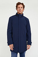 Пальто мужское Finn Flare, цвет темно-синий, размер 3XL