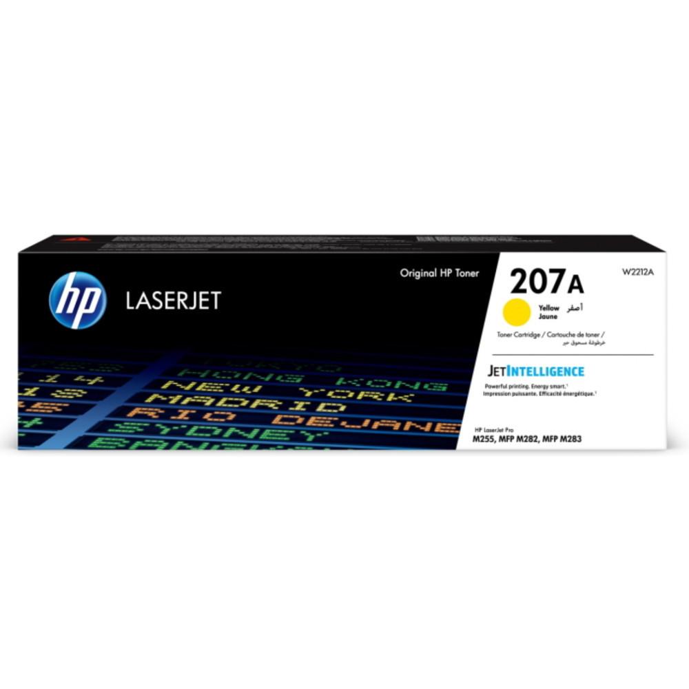 Тонер HP LaserJet 207A Yellow W2212A