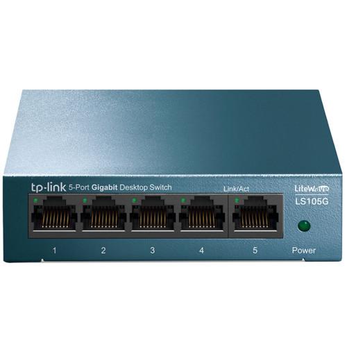 Коммутатор TP-Link LS105G (1000 Base-TX (1000 мбит/с))