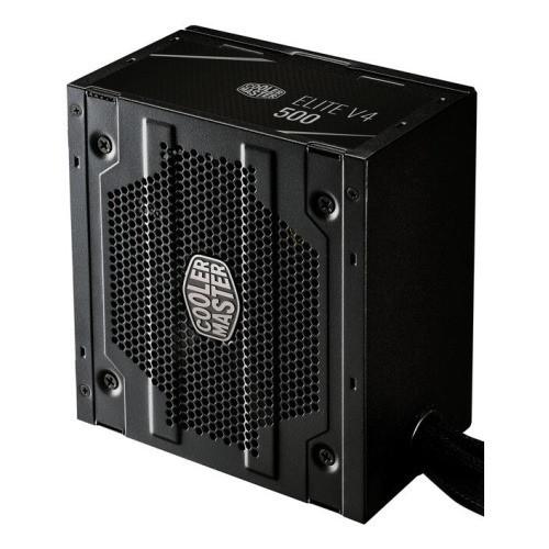 Блок питания CoolerMaster Elite V4 400W Вентилятор 12 см, 80PLUS, MPE-5001-ACABN-EU