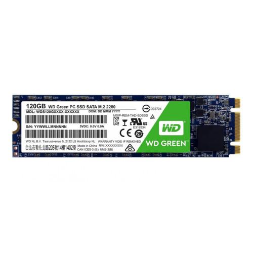 Твердотельный накопитель 120GB SSD WD WDS120G2G0B Серия GREEN