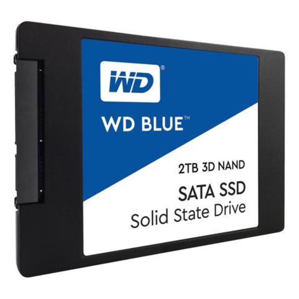 Твердотельный накопитель 2000GB SSD WD WDS200T2B0A Серия BLUE