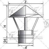 Зонт-К 0,5 (430/0,5). Ф115. (по конденсату). Ferrum., фото 7