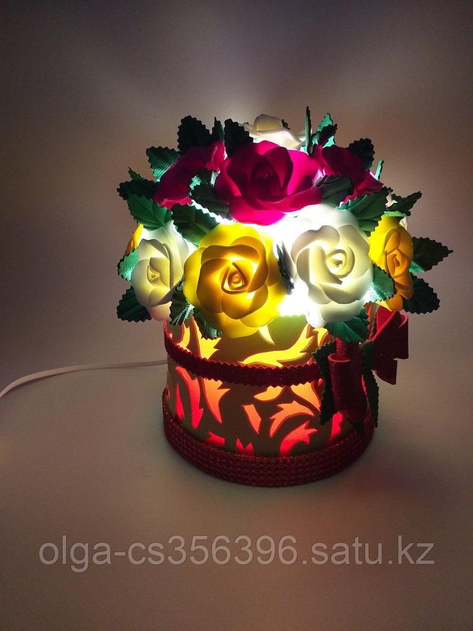 Прикроватный светильник. Шляпная коробка. Creativ 2403