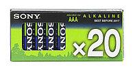 Батарейка пальчиковая Sony AM4M20XA LR3 AAA, 20 шт