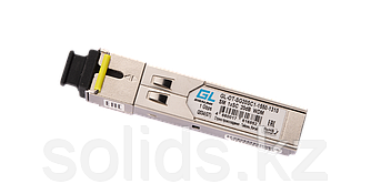 Модуль GIGALINK SFP WDM 1Гбит/c одно волокно SM SC Tx:1550/Rx:1310 нм 20дБ (до 40 км)