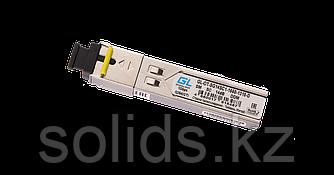 Модуль GIGALINK SFP WDM 1Гбит/c одно волокно SM SC Tx:1550/Rx:1310 нм DDM, 14 дБ (до 20 км)