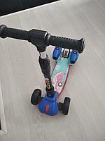 Самокат Scooter MAGIC со встроенными светящимися турбинами, пускающими дым на батарейках., фото 1