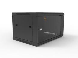 Шкаф серверный настенный LATITUDA 6U, 600*450*367 мм цвет черный