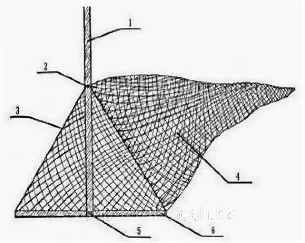 Сак рыболовный длина 3м - фото 2