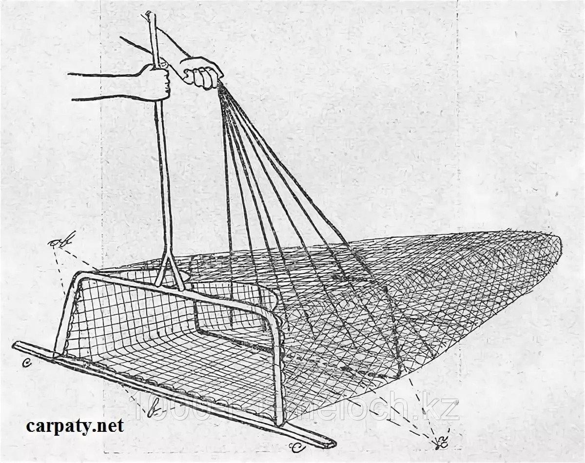 Сак рыболовный длина 3м - фото 5