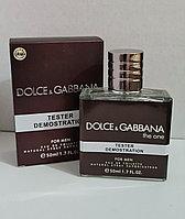 Тестер D&G The one мужской 50 ml