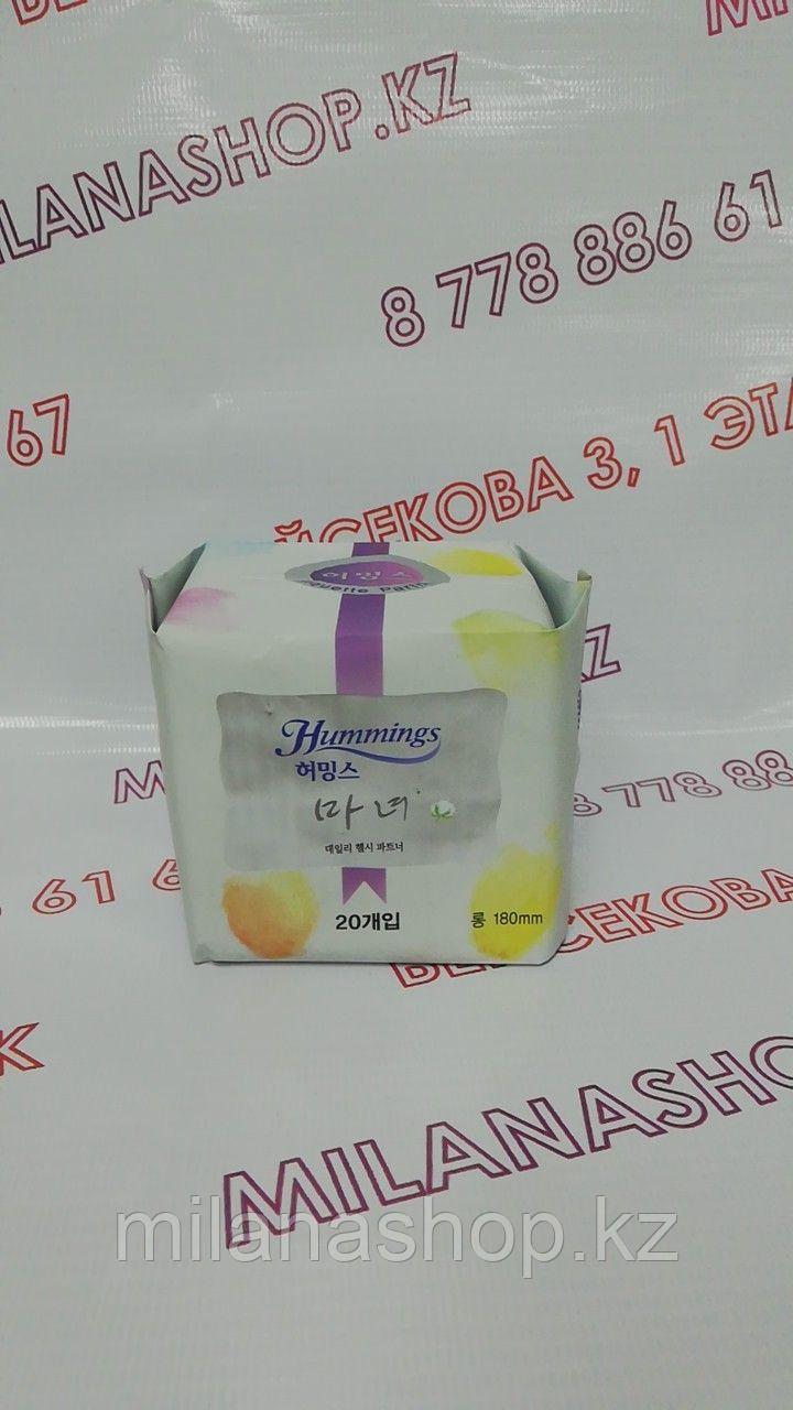Hummings 180 mm - Ежедневные гигиенические прокладки Хаммингс