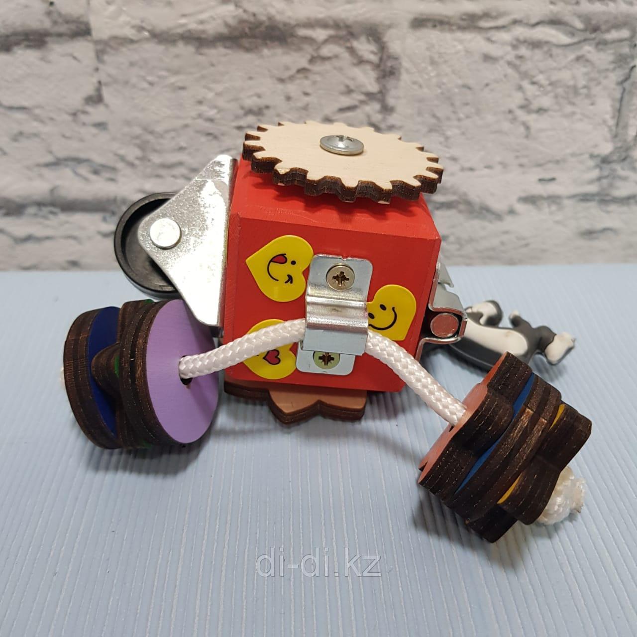 Бизикуб (Карманный) крашенный 5x5 1006