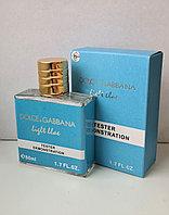 Тестер D&G light blue Женский 50 ml