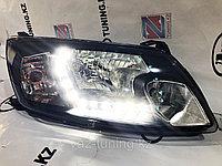 Фары передние с диодной полосой Лада Гранта, фото 1